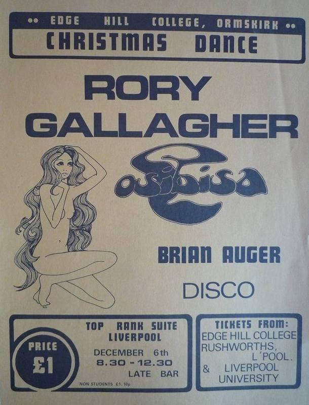 Photos de Roy Fisher - Top Rank Suite - Liverpool (UK) - 6 décembre 1971 10325210