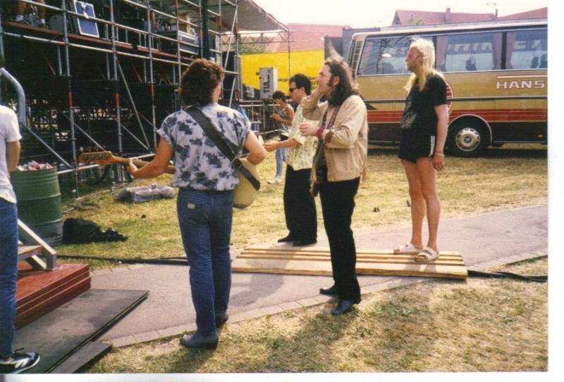 Photos de Pat McManus - Inselwiese, Dinkelsbuhl (Allemagne) - 5 juillet 1986 10364110