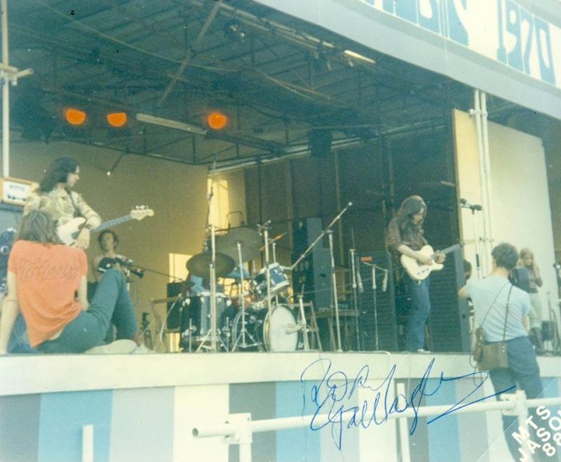 Photos de Ted Tuska - Festival de l'île de Wight - 28 août 1970 10492410