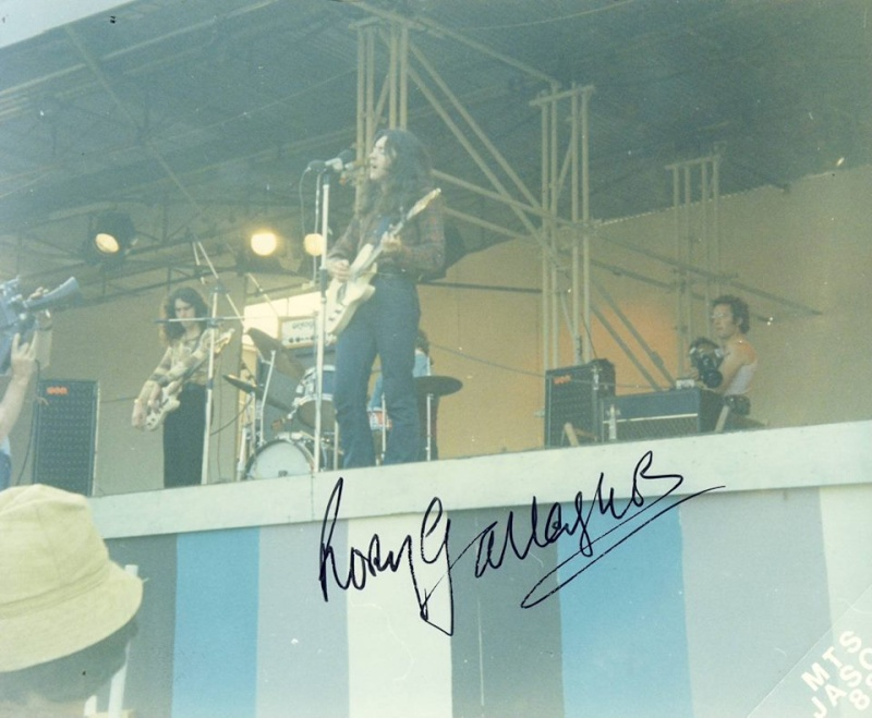 Photos de Ted Tuska - Festival de l'île de Wight - 28 août 1970 10565010