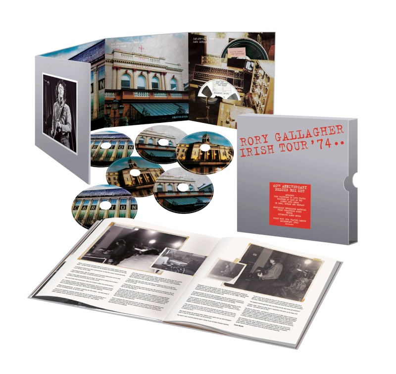 Irish Tour '74 - 40th Anniversary Boxset (2014) 10631010