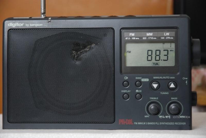 Portable AM/FM radio for the bush Bush_r10