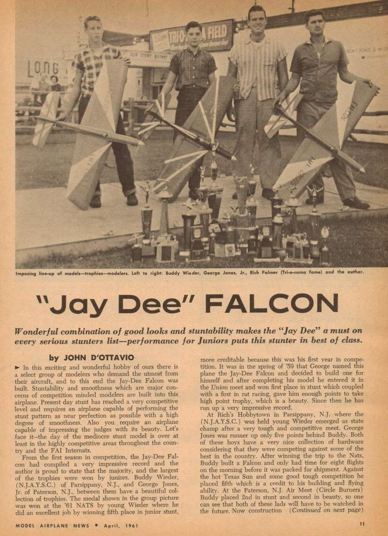 "Old Magazine Morning...""Another Model Airplane Hero"": Don McGovern's 'All Wet' column Flying Models 8/68 Jay_de10"