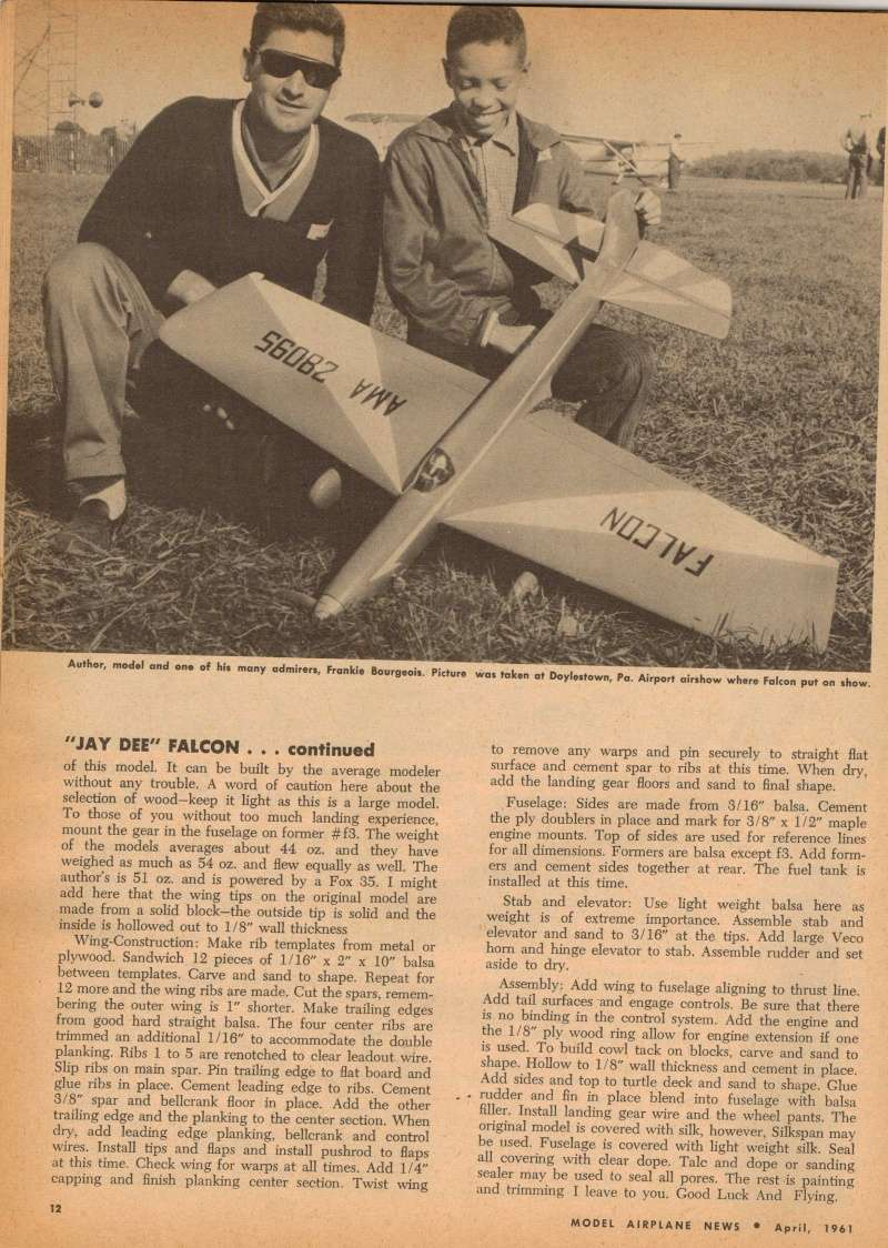 "Old Magazine Morning...""Another Model Airplane Hero"": Don McGovern's 'All Wet' column Flying Models 8/68 Jay_de11"