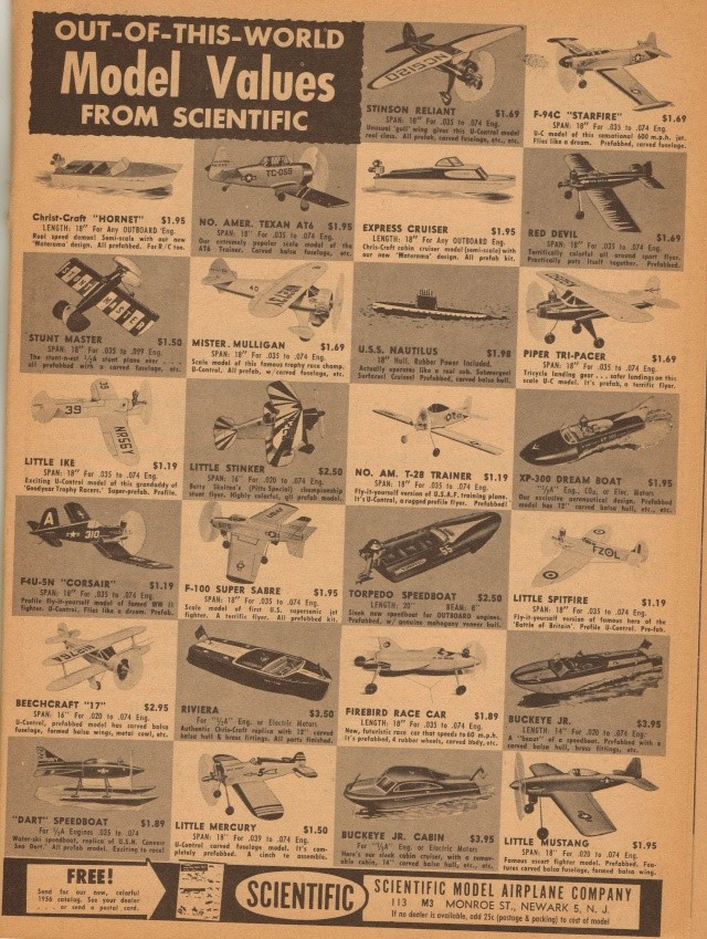 "Old Magazine Morning...""Another Model Airplane Hero"": Don McGovern's 'All Wet' column Flying Models 8/68 Old_ma14"