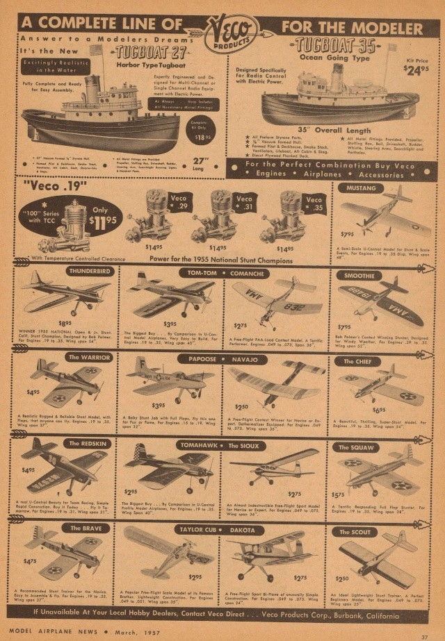 "Old Magazine Morning...""Another Model Airplane Hero"": Don McGovern's 'All Wet' column Flying Models 8/68 Old_ma16"
