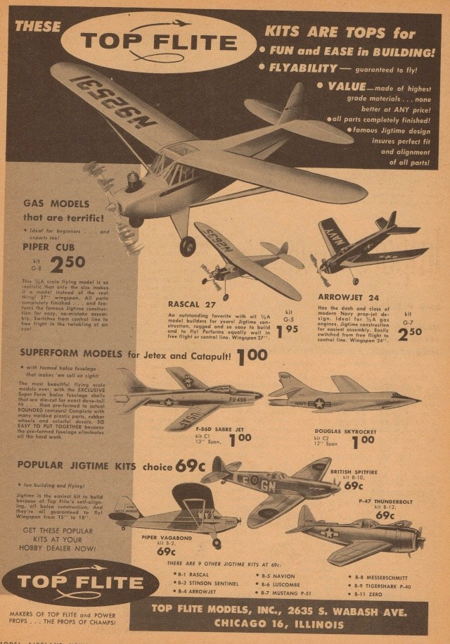"Old Magazine Morning...""Another Model Airplane Hero"": Don McGovern's 'All Wet' column Flying Models 8/68 Old_ma17"