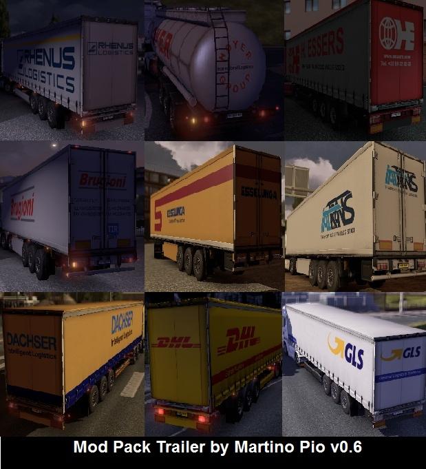 Mod Pack Trailer by MartinoPio v0.6 - Euro Truck Simulator 2 (mod) Antepr10