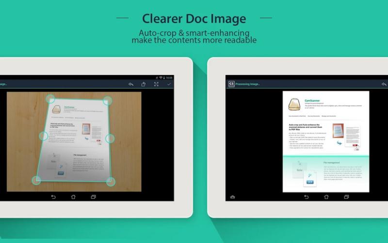 Scansionare documenti con il cellulare come uno scanner gratis - CamScanner Camsca10