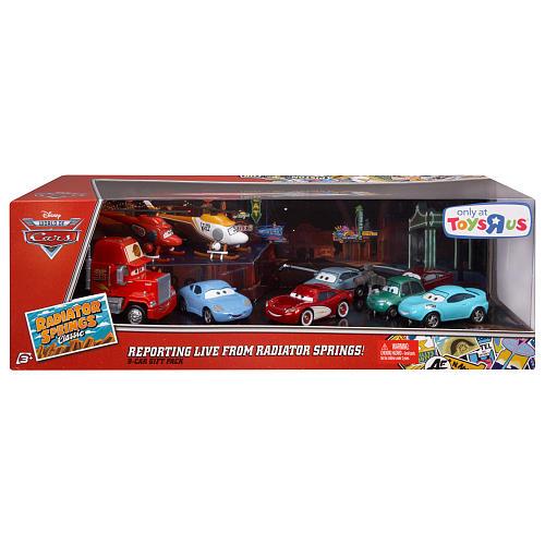 Disney Pixar's Cars Radiator Springs 8 Pack Ptru1-10
