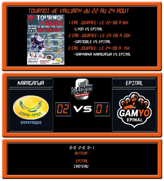 [Tournoi amical de Vaujany] Saryarka 2 - 1 Epinal (3ème journée, 24 août 2014) Vaujan16