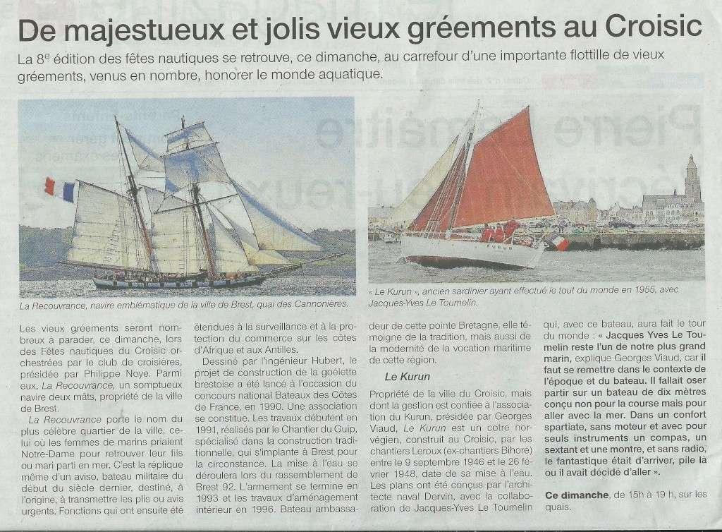 [Activité hors Marine des ports] LE CROISIC Port, Traict, Côte Sauvage... - Page 7 Kurun11