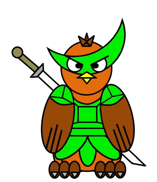 The great fukurô: mascotte de la TIL Mascot14