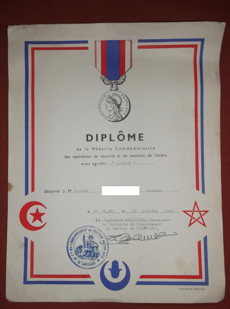 Des documents d'un ancien d'Algérie Diplym10
