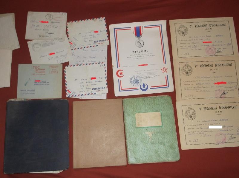 Des documents d'un ancien d'Algérie Ensemb10