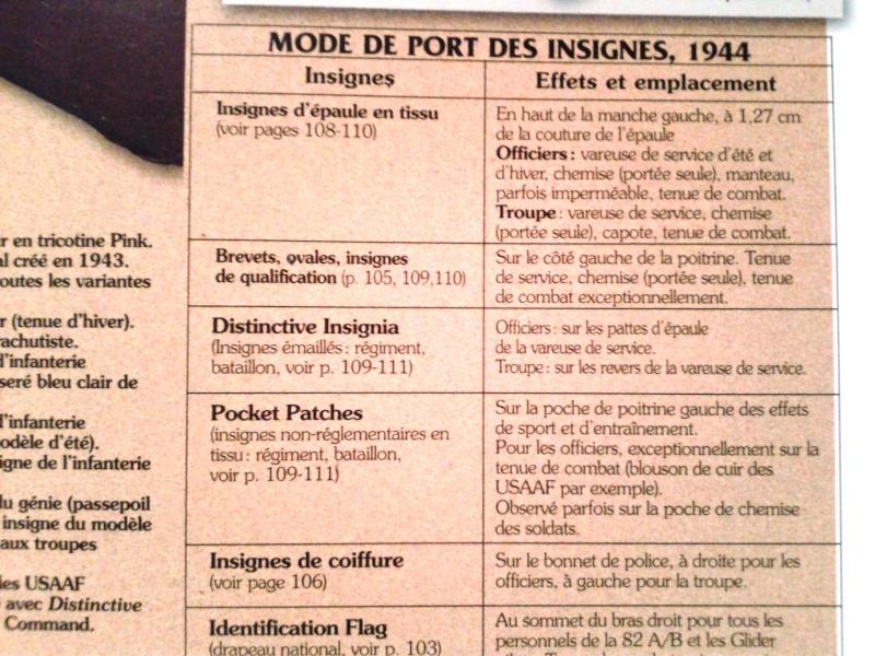 Les UNIFORMES - RIBBONS - DECORATIONS 20140910