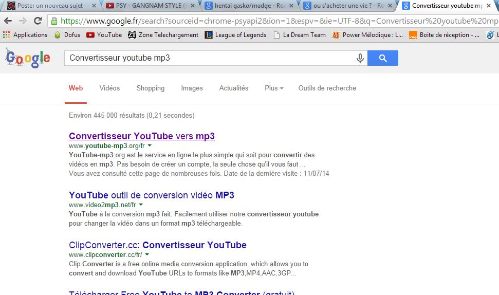 Tuto : Convertir une musique Youtube en format MP3 Conver10