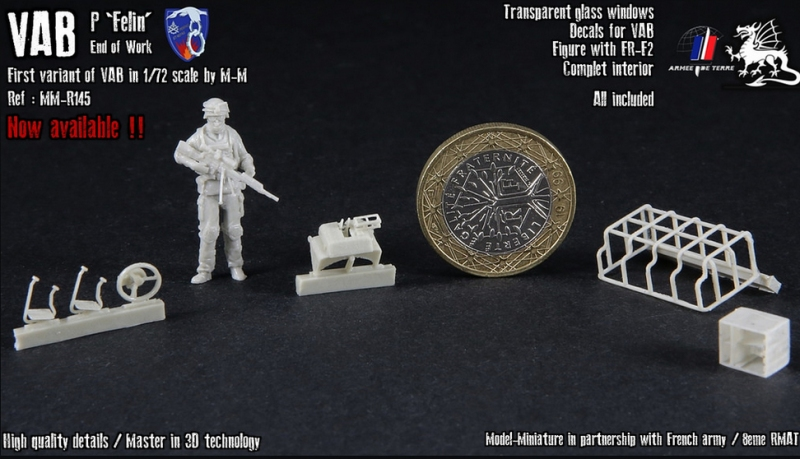 """Nouveautés Model Miniature: VAB P """"Felin"""" et roues de Boxer Dfsf10"""