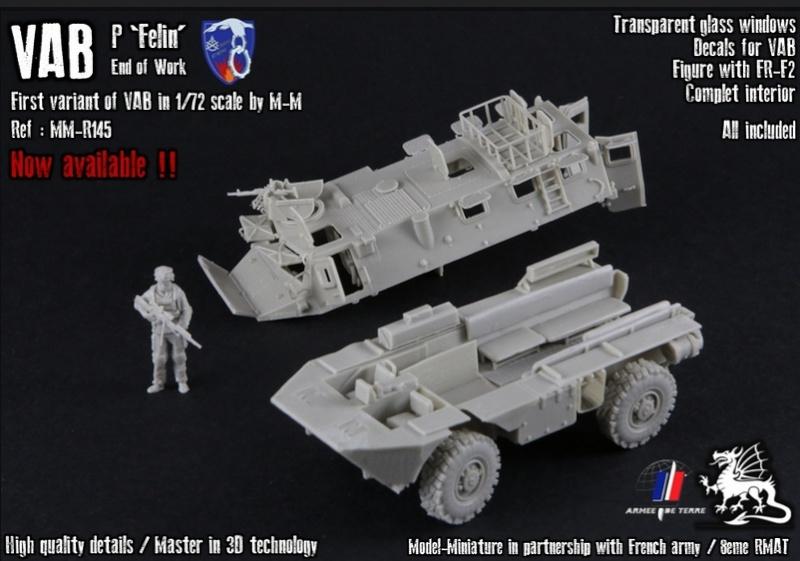 """Nouveautés Model Miniature: VAB P """"Felin"""" et roues de Boxer Image114"""