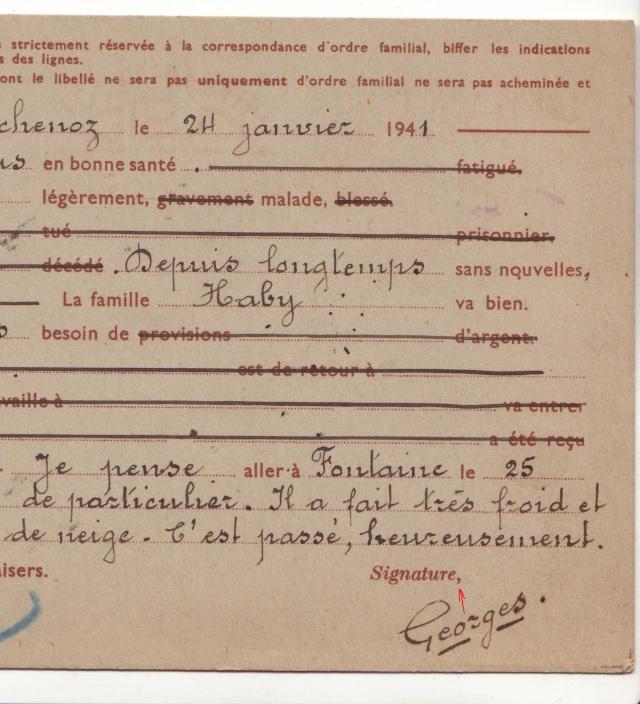 Les Cartes Postales familiales Interzones - Type Iris sans valeur - 1° modèle septembre 1940. 10000110