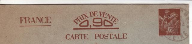 Les Cartes Postales familiales Interzones - Type Iris sans valeur - 1° modèle septembre 1940. 1000110