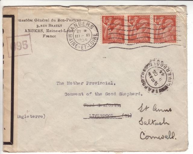 1944 une lettre contrôlée par la censure 1001510
