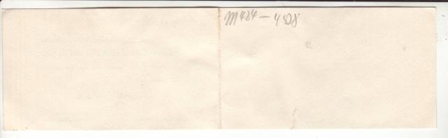 """Cachets """"Non admis"""" sur lettres contrôlées par l'ABP e. 11000510"""