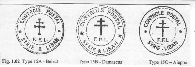 Autre cachet du type 15 des FFL utilisé en 1943 ! 111