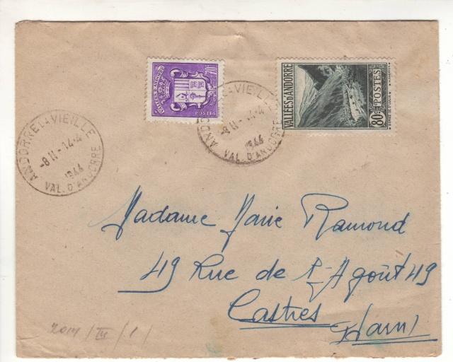 Lettre d'Andorre du 14.04.44 censurée à Nancy. 1_000410