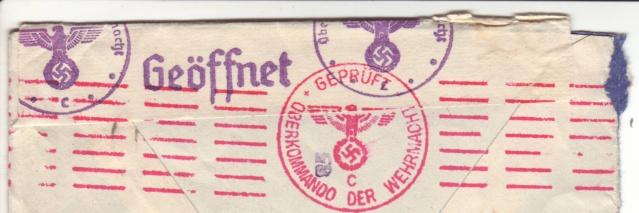 """Lettre affranchie avec des timbres Pétain - le vendeur la signale comme """"SPECTACULAIRE"""" !! 1_10"""