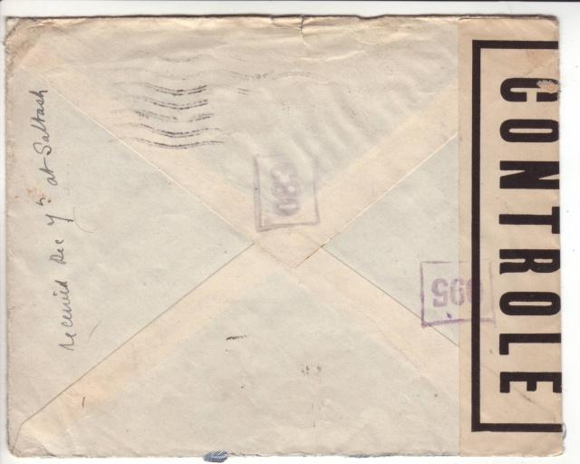 1944 une lettre contrôlée par la censure 2022211
