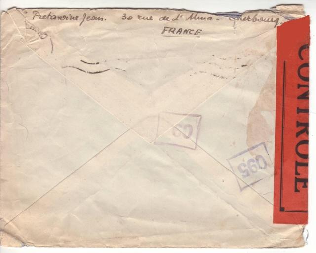 1944 une lettre contrôlée par la censure 2022410