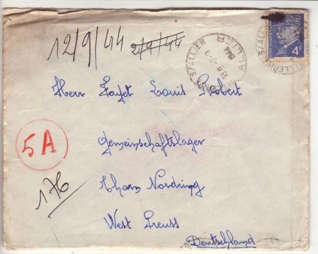 Tarif postal du 25 aout 1944 de la France vers le Reich - méconnu des guichetiers et du peuple ?? 2023111