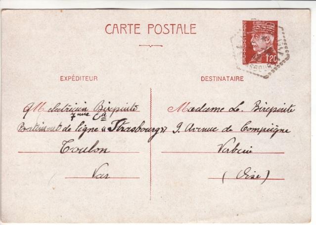 """Batiment de ligne """"Strasbourg"""" à Toulon en octobre 1942. 3002010"""