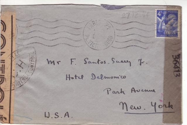 1944 une lettre contrôlée par la censure 3002110