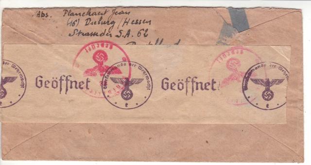 Tarif postal du 25 aout 1944 du Reich vers la France - méconnu des guichetiers et du peuples ?? 3002111