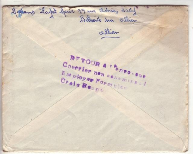 Tarif postal du 25 aout 1944 de la France vers le Reich - méconnu des guichetiers et du peuple ?? 3002511