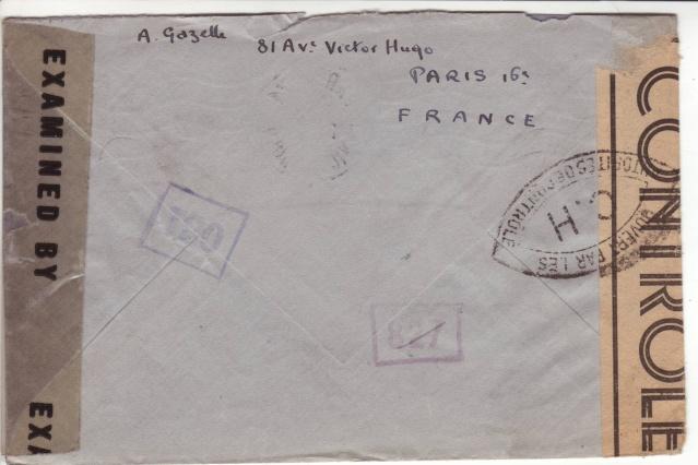 1944 une lettre contrôlée par la censure 4001410
