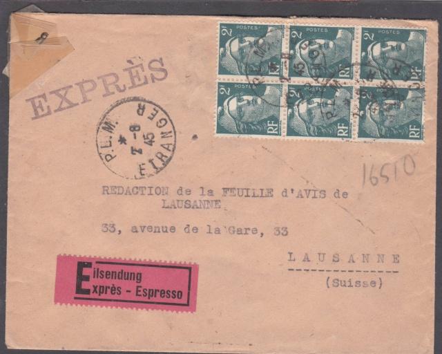 1945 - censure AZ130 contrôle de la presse _1000010