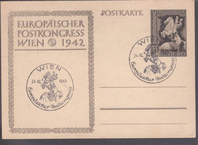 Le Congrès Postal européen de Vienne 1942 et ses conséquences. _1001610