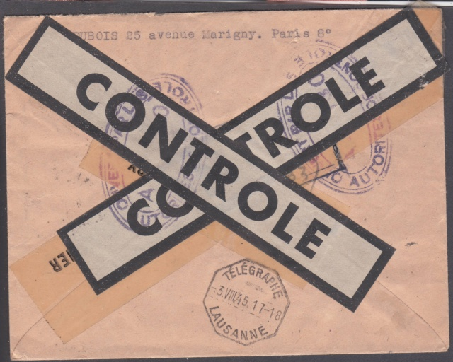 1945 - censure AZ130 contrôle de la presse _1100010