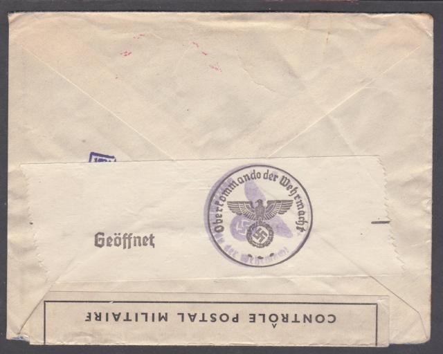 Les cachets UP après l'armistice et jusqu'en novembre 1940 _11710