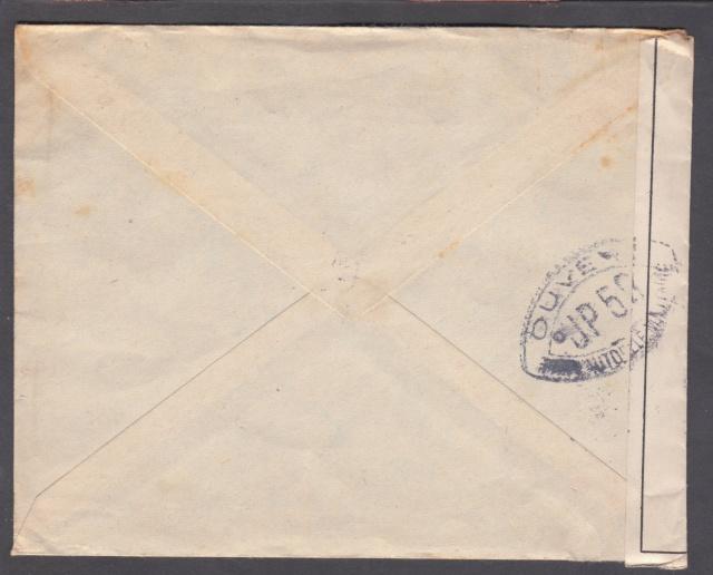 Les cachets UP après l'armistice et jusqu'en novembre 1940 _12310