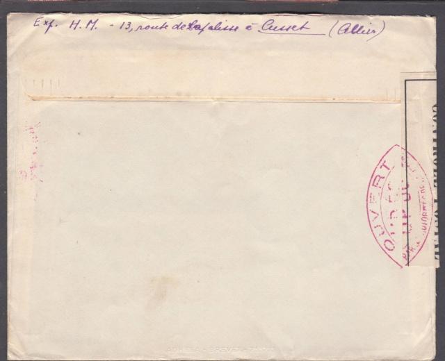 Les cachets UP après l'armistice et jusqu'en novembre 1940 _12610