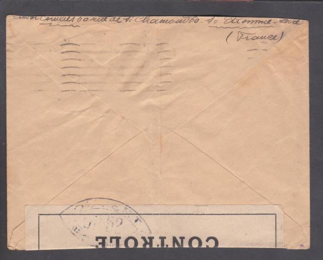Les cachets UP après l'armistice et jusqu'en novembre 1940 _12810