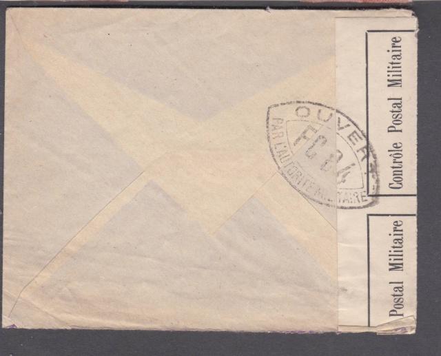Cachet postal du Suippe (départ) sur bande de fermeture de Chalons sur Marne ?? _2001511