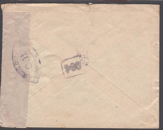 1944 une lettre contrôlée par la censure _2001810