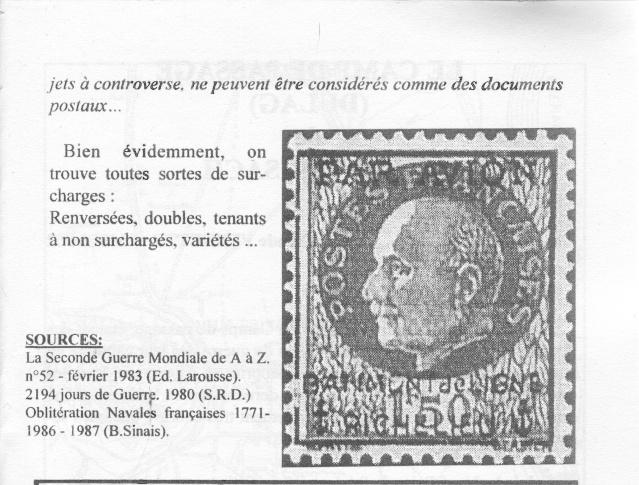 L'agence postale embarquée sur le Richelieu. _210