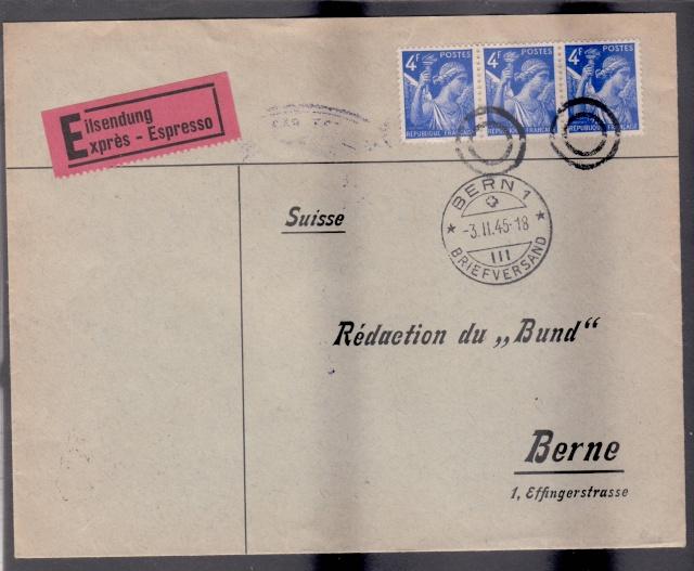 1945 - censure AZ130 contrôle de la presse _3001310