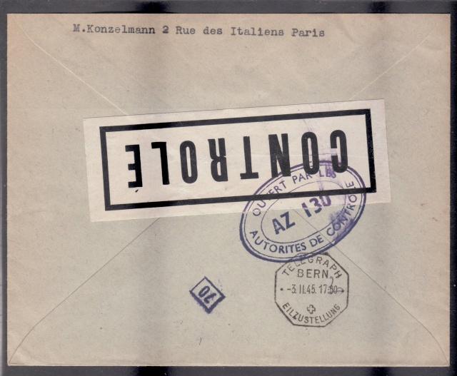 1945 - censure AZ130 contrôle de la presse _4001210